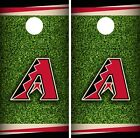 Arizona Diamondbacks Cornhole Wrap MLB Field Game Skin Set Vinyl Decal CO458 on Ebay