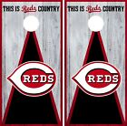 Cincinnati Reds Cornhole Wrap MLB Vintage Game Board Skin Set Vinyl Decal CO477 on Ebay