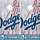 Los Angeles Dodgers Cornhole Wrap MLB Logo Game Board Skin Set Vinyl Decal CO489 on Ebay