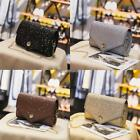 Women Square Flap Glitter Star Shoulder Bag Messenger Bag Evening Party N98B