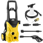 1500~3000PSI Electric High Pressure Washer Machine 1.7GPM 1400/1800W 2 Types