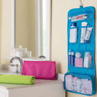 Canvas Travel Toiletry Hanging Wash Bag Makeup Cosmetic Folding Organizer New