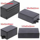 DIY Waterproof Electronic Project Instrument Case Connector Aluminum Black Box