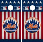 New York Mets Cornhole Wrap MLB America Game Board Skin Set Vinyl Decal CO502 on Ebay
