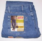 NEW Wrangler Fleece Lined Jeans 42x30 38x32 36x34 32x32 or 32x30 Relaxed Fit NWT