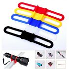 5 X Cycle Bike Bicycle Light Flashlight Torch Silicone Bandage Strap Holder Ties