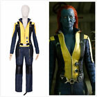 X-Men: First Class Mystique Cosplay Costume Outfit Movie Uniform