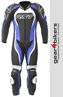 RST Tractech Evo 2 1415 One Piece Blue Motorcycle Leather Suit Track Race 1
