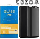 Privacy Tempered Glass Screen Protector For Samsung Galaxy S8 S9 Plus Note 8 9