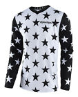 NEW 2018 TROY LEE DESIGNS TLD GP STAR MOTOCROSS MX JERSEY WHITE/BLACK ALL SIZES