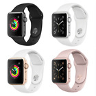 Apple Watch Series 2 42mm Aluminum Case - Space Gray Silver Gold Rose Sport Band