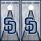 San Diego Padres Cornhole Wrap MLB Vintage Game Board Skin Set Vinyl Decal CO523 on Ebay