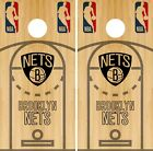Brooklyn Nets Cornhole Wrap NBA Game Court Board Skin Set Vinyl Decal CO566 on eBay