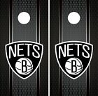 Brooklyn Nets Cornhole Wrap NBA Game Board Skin Set Vinyl Decal Art CO567 on eBay