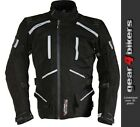 Richa Canyon 3 in 1 Black Grey Textile Motorcycle Armoured  Jacket All Seasons