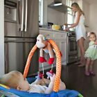 PullyPalz Baby Travel Pram Stroller Crib Attach Soother Pacifier Holder Clip Toy