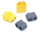 AMASS XT60+ XT60 plus Male/Female Connector Pairs with Insulating Caps LOT x1-20