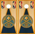 Denver Nuggets Cornhole Wrap NBA Vintage Game Board Skin Set Vinyl Decal CO593 on eBay