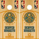 Denver Nuggets Cornhole Wrap NBA Court Game Board Skin Set Vinyl Decal CO596 on eBay