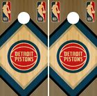 Detroit Pistons Cornhole Wrap NBA Wood Game Board Skin Set Vinyl Decal CO600 on eBay