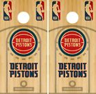 Detroit Pistons Cornhole Wrap NBA Court Game Board Skin Set Vinyl Decal CO602 on eBay