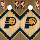 Indiana Pacers Cornhole Wrap NBA Wood Game Board Skin Set Vinyl Decal CO618 on eBay