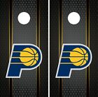Indiana Pacers Cornhole Wrap NBA Game Board Skin Set Vinyl Decal Art CO621 on eBay