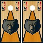 Memphis Grizzlies Cornhole Wrap NBA Vintage Game Skin Set Vinyl Decal CO635 on eBay