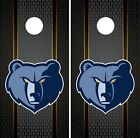 Memphis Grizzlies Cornhole Wrap NBA Game Board Skin Set Vinyl Decal Art CO639 on eBay