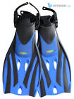 TWF Kids Adjustable Fins Flippers Childrens Snorkelling Swimming Scuba Childs