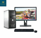 FAST Dell Desktop Computer PC Core 2 Duo 2.4Ghz 4GB RAM Windows 10/7 Pro WIFI