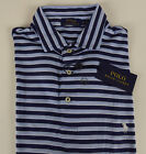 Polo Ralph Lauren SS Soft Touch Pima Cotton Striped Polo Shirt w Pony NWT $85-98