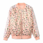 adidas Originals Womens Love Set Reversible Satin Floral Bomber Jacket XS S M