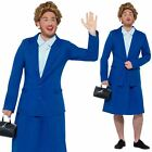 Mens Iron Lady Margaret Thatcher Prime Minister 1980s Fancy Dress Costume