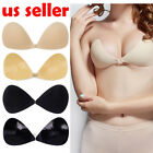 bra cups for dress - New summer waterproof Lady non-slip Backless invisible Lycra bra for Dress A-D