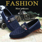 Fashion Men's Moccasins Penny Driving Loafers Slip on Suede Leather Shoes new