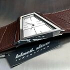 BLACK DICE HUSTLE WIDE STRAP ASYMMETRIC CUSTOM CASE& DIAL DESIGNER WATCH BD00302