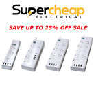 Sansai 2, 4, 6, 8  Way Socket Outlet Surge Protector Power Board USB Charger GPO