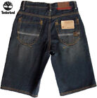 NWT Timberland Boys Blue Faded Look Denim Shorts(Size 18) NEW