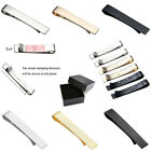 Men Dad Boyfriend Tie Clip Pin Clasp Bar Office Wedding Customized Gift + Box