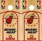 Miami Heat Cornhole Wrap NBA Court Game Skin Board Set Vinyl Decal CO644 on eBay