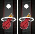 Miami Heat Cornhole Wrap NBA Game Skin Board Set Vinyl Decal Art CO645 on eBay