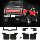 1:10 RC Front/Rear Mud Flaps Rubber Fender For Traxxas TRX4 Ford Bronco Ranger