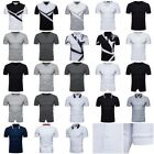 Summer T-shirt fashion casual men's Owen collar large size short-sleeved T-shirt