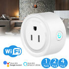 Lot Smart Mini WiFi Plug Outlet Switch work with Echo Alexa Google Home Remote
