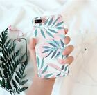 For IPhone X 8 6 6S 7 Plus Flower Cute Case Slim Cover PC Silicone TPU Girls US