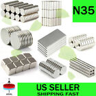 10/50/100Pcs Super Strong Block Round Disc Magnets Rare-Earth Neodymium Magnet