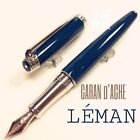 Caran d'Ache Special Edition Green Amazon Silver Trim 18K Fountain Pen
