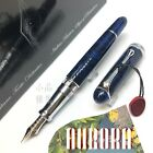 Aurora 88 Limited Edition 688 Sigaro Blue Marble 18K Flexible F nib Fountain Pen