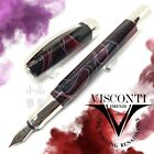 Visconti Special Edition Vertigo Purple Burgundy color Fountain Pen